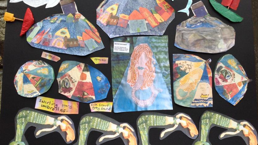 Seaton Mermaid mood board